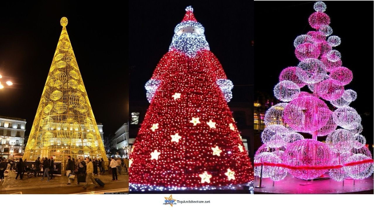47 Incredible Outdoor Christmas tree Decorations