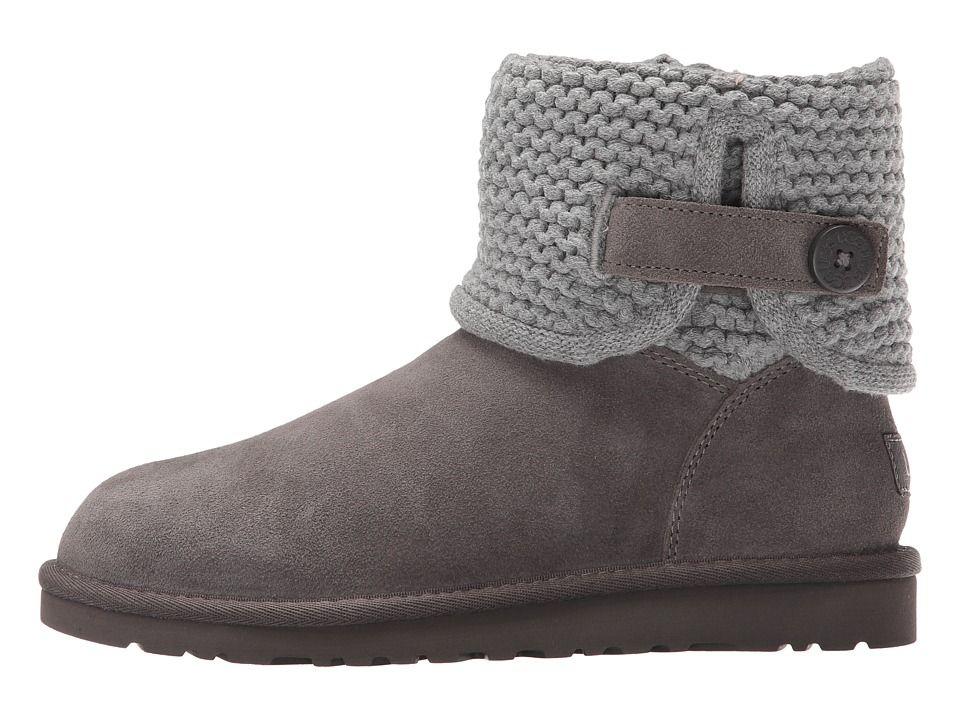2ad6ee78d8d UGG Kids Darrah (Big Kid) Girls Shoes Grey