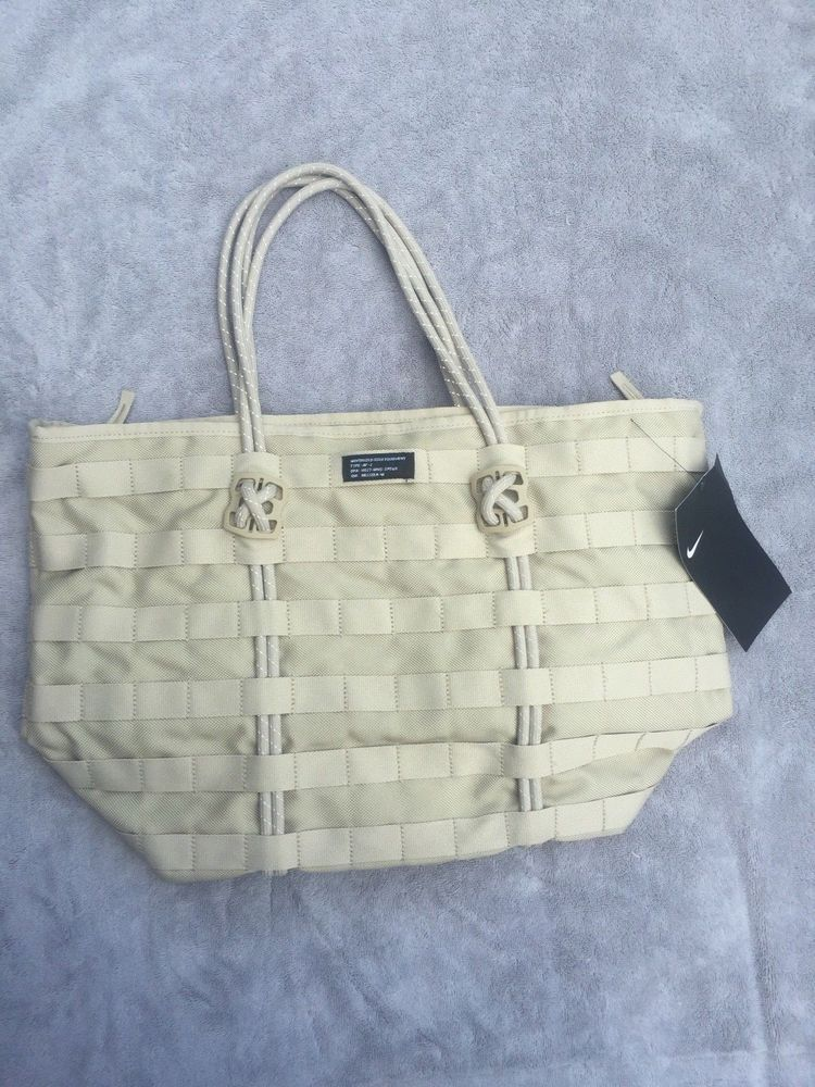 d8cfe6c9591 Nike NSW Air Force 1 SF AF1 Tote Bag SPORTSWEAR Tan Khaki BA4989 205 - NWT  #fashion #clothing #shoes #accessories #womensbagshandbags # ...