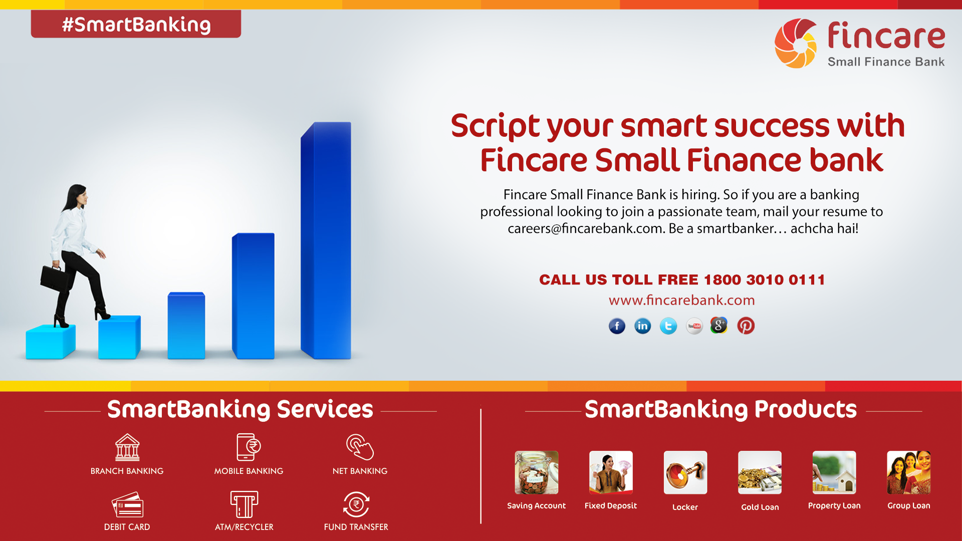 Script your smart success with Fincare Small Finance Bank