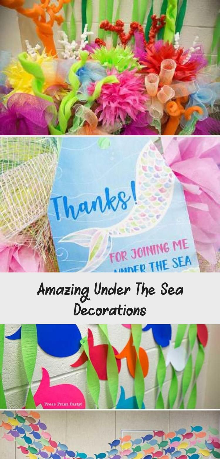 Amazing Under The Sea Decorations Under The Sea Decorations