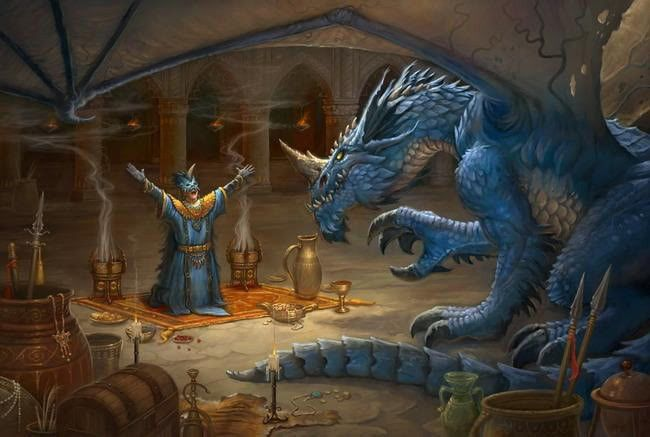Image result for blue dragon lair