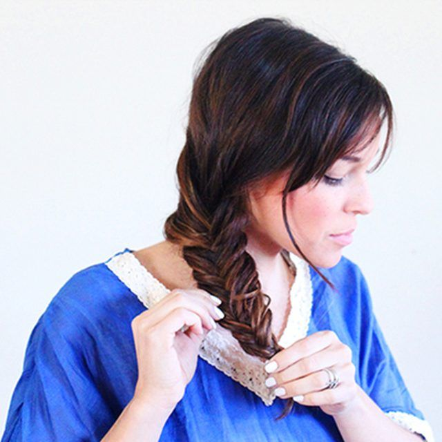 A Fishtail Braid Works Best The Day After You Wash Your Hair