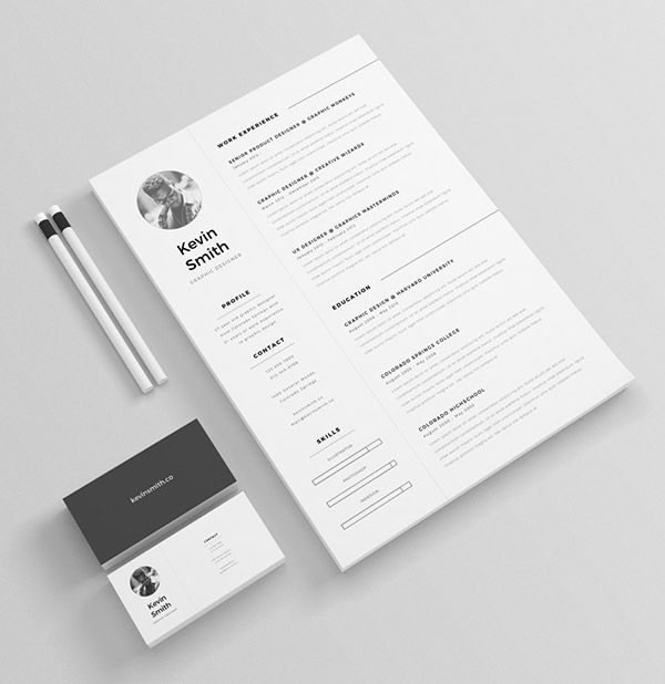 50+ Beautiful Free Resume (CV) Templates in Ai, Indesign \ PSD - free resume download template
