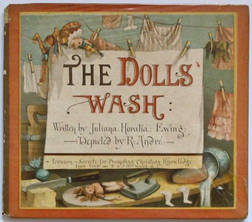 """""""The Dolls Wash"""" illustrated by . Andre"""