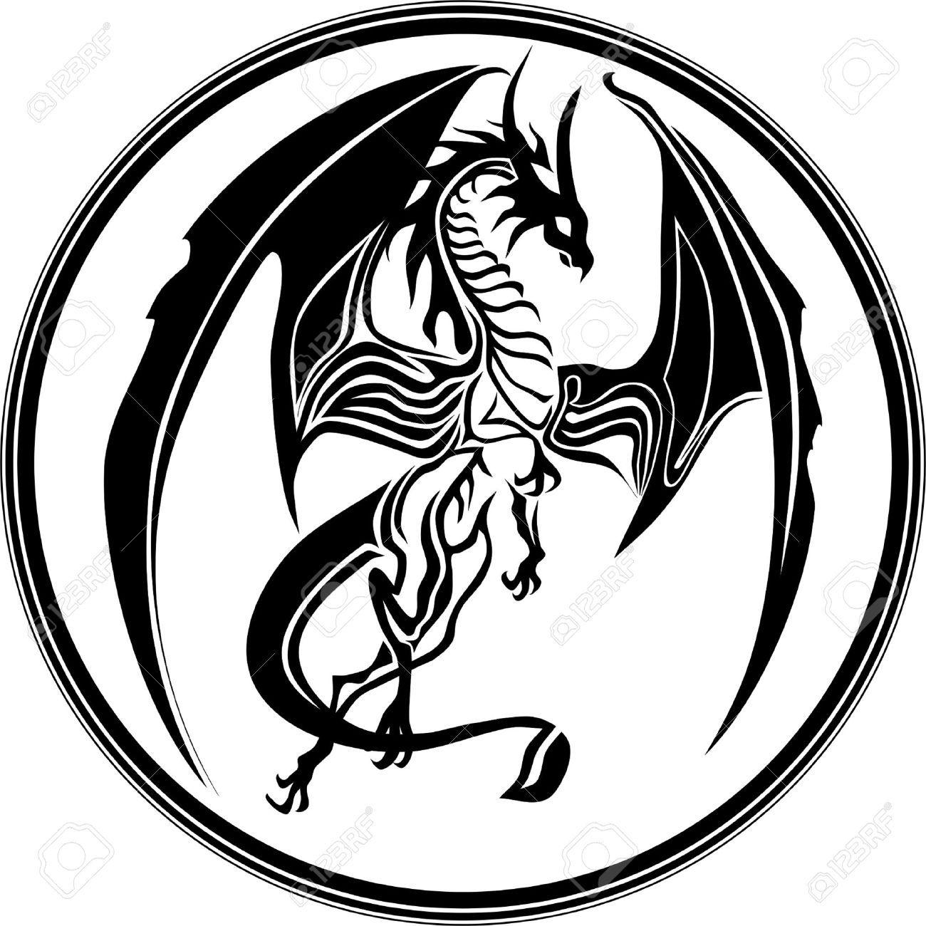 12802721 dragon tribal like stock vector tattoog 13001300 12802721 dragon tribal like stock vector tattoog 1300 ccuart Images