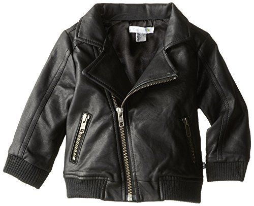 Petit Lem Baby Boys Motorized Infant Pleather Jacket Black 3 6 Months Petit Lem Http Www Amazon Com Dp B00klzw6s Pleather Jacket Baby Boy Sweater Petit Lem