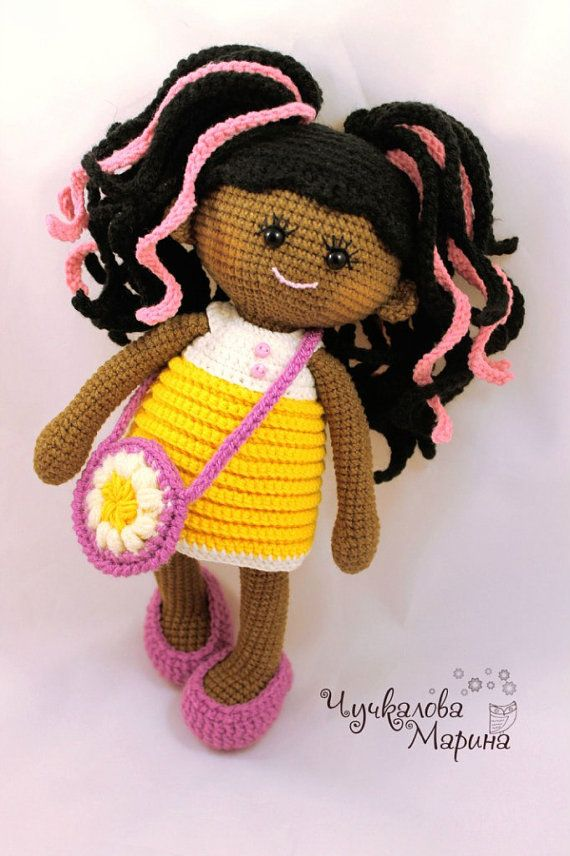 PATTERN Pumposhka doll PDF crochet doll pattern | Patrones de ...
