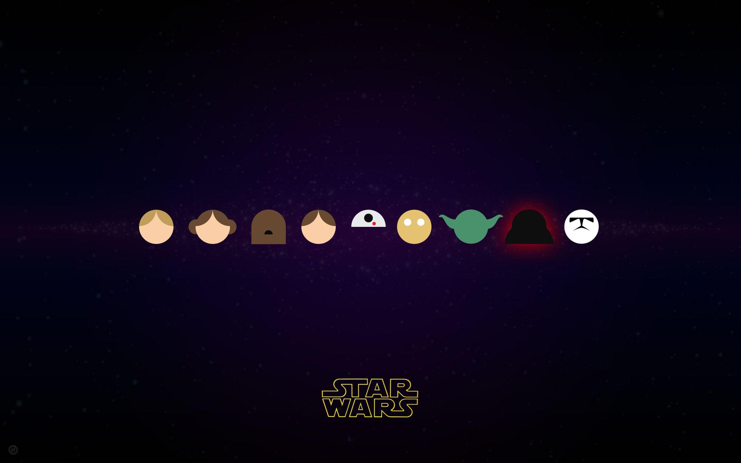 2560x1600 Wallpaper Minimalism Star Wars Photo 11 Star Wars Wallpaper Star Wars Diy Star Wars Movies Posters
