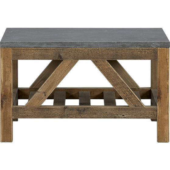 Bluestone Coffee Table In Side Coffee Tables Crate And Barrel