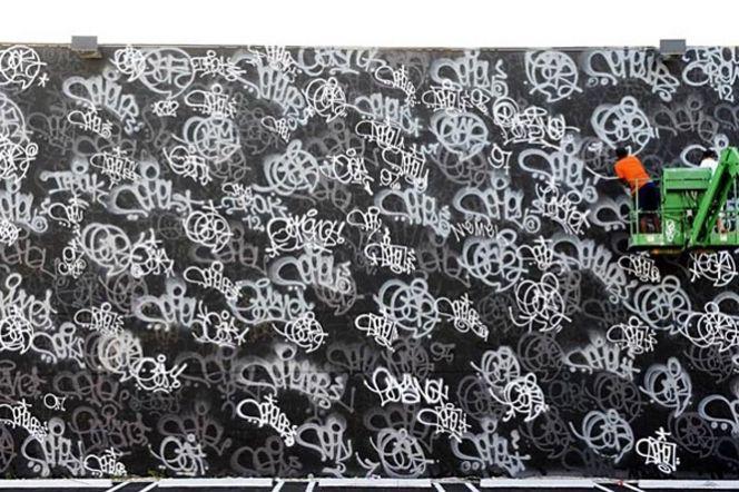 51729b7290ad Nemel x Earsnot Mural Art Basel 2011