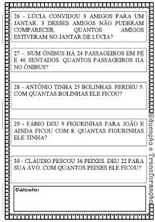 Calculos De Adicao Sem Reserva Adicao E Subtracao Matematica