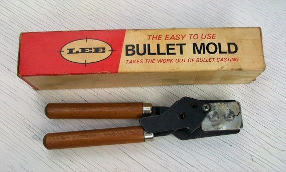 Vintage LEE Double Cavity REAL Bullet Mold by