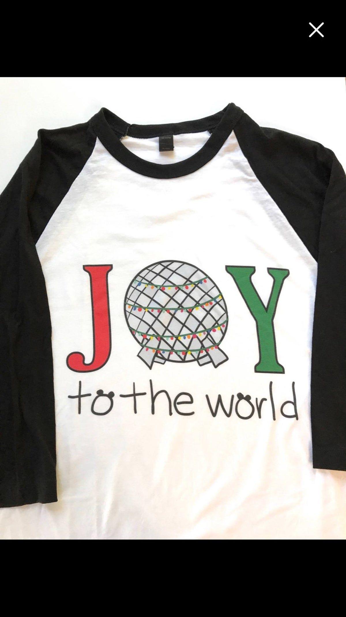 Disney world EPCOT shirt on Mercari