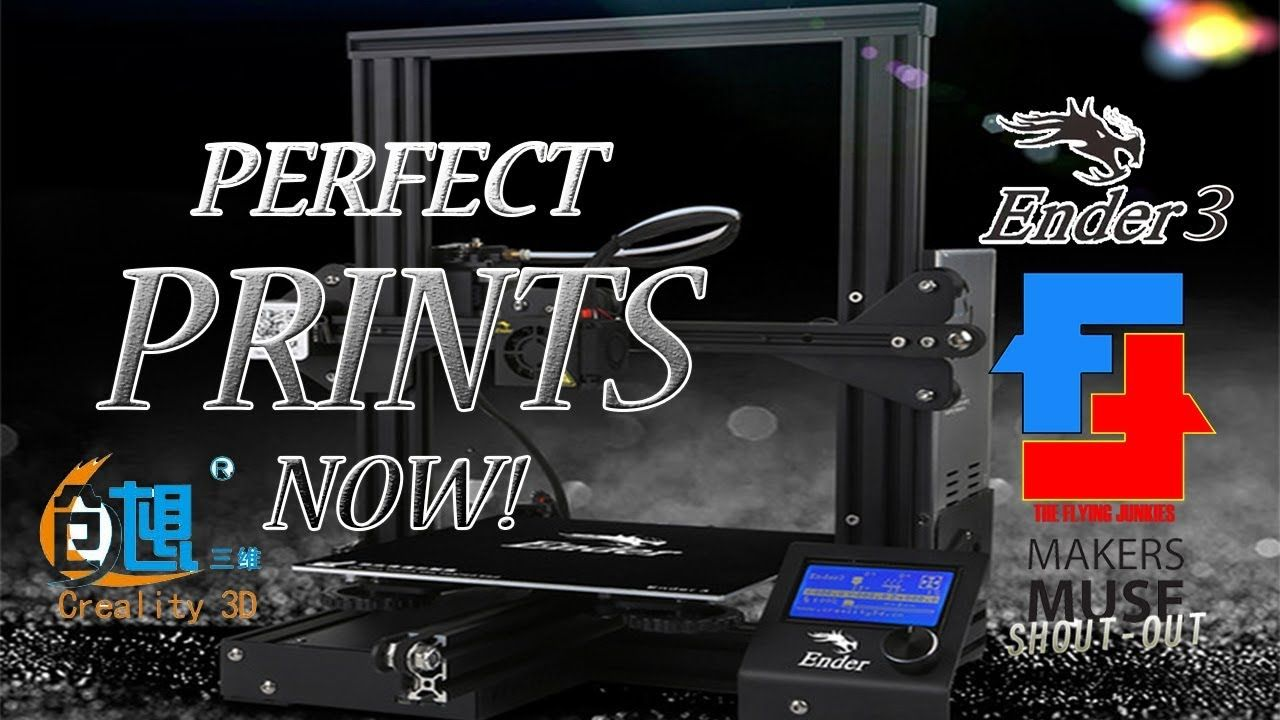 Perfect Prints with Cura & the Ender 3 from Creality | 3D