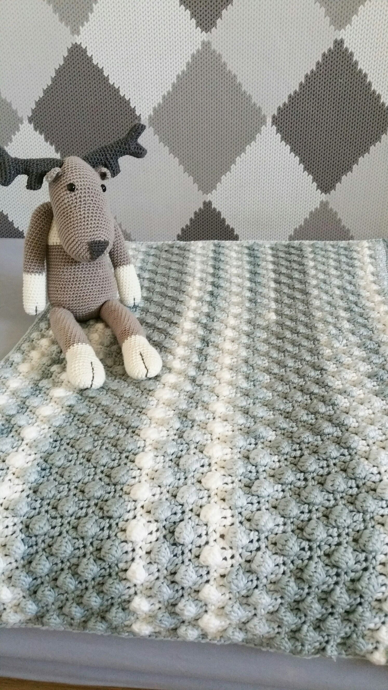 Superzachte Baby Deken Haken Draad En Praat Crochet