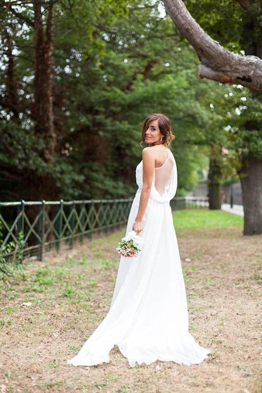 """Una """"Boda Rosa Clará"""" con un vestido estilo griego   Rosa Clará ..."""