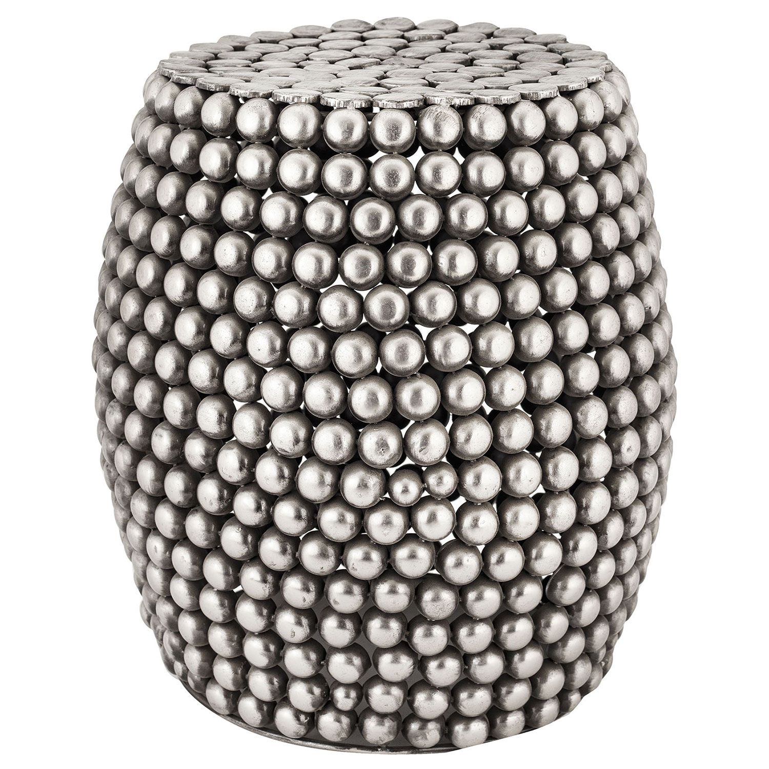 The Pewter Pebble stool delivers edgy modernity to interiors. Boasting a sleek drum shape, this alluring furnishing showcases…