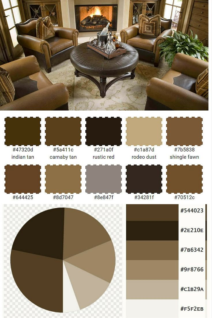 Tan Coffee Brown And Peat Living Room Color Scheme Home Stratosphere Modern Living Room Brown Room Color Schemes Brown Living Room Masculine living room color schemes