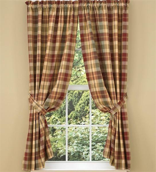 saffron lined panel curtains 84