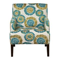 Best Zoe Accent Chair Blue Green With Images Blue Accent 640 x 480