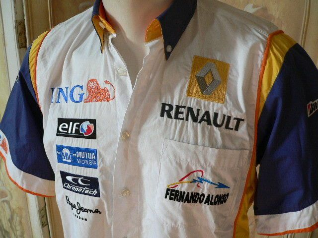 #Fernando alonso #renault f1 race shirt size s formula one official #merchandise ,  View more on the LINK: 	http://www.zeppy.io/product/gb/2/122239328616/