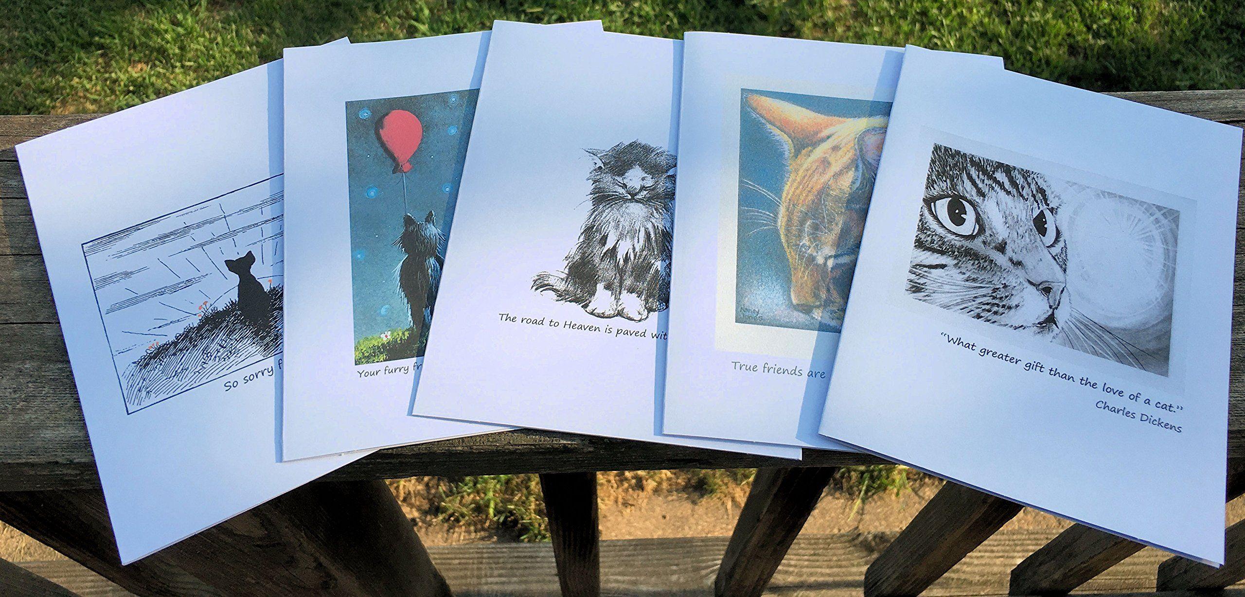 Cat lover sympathy cards click image for more details