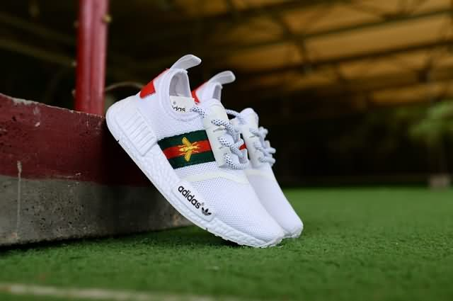 Cheap Adidas NMD R1 Kid 2018 shoes White Red Only Price  42 To Worldwide Free  Shipping ae26d2fa2
