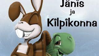Jänis ja kilpikonna - Aisopoksen sadut.
