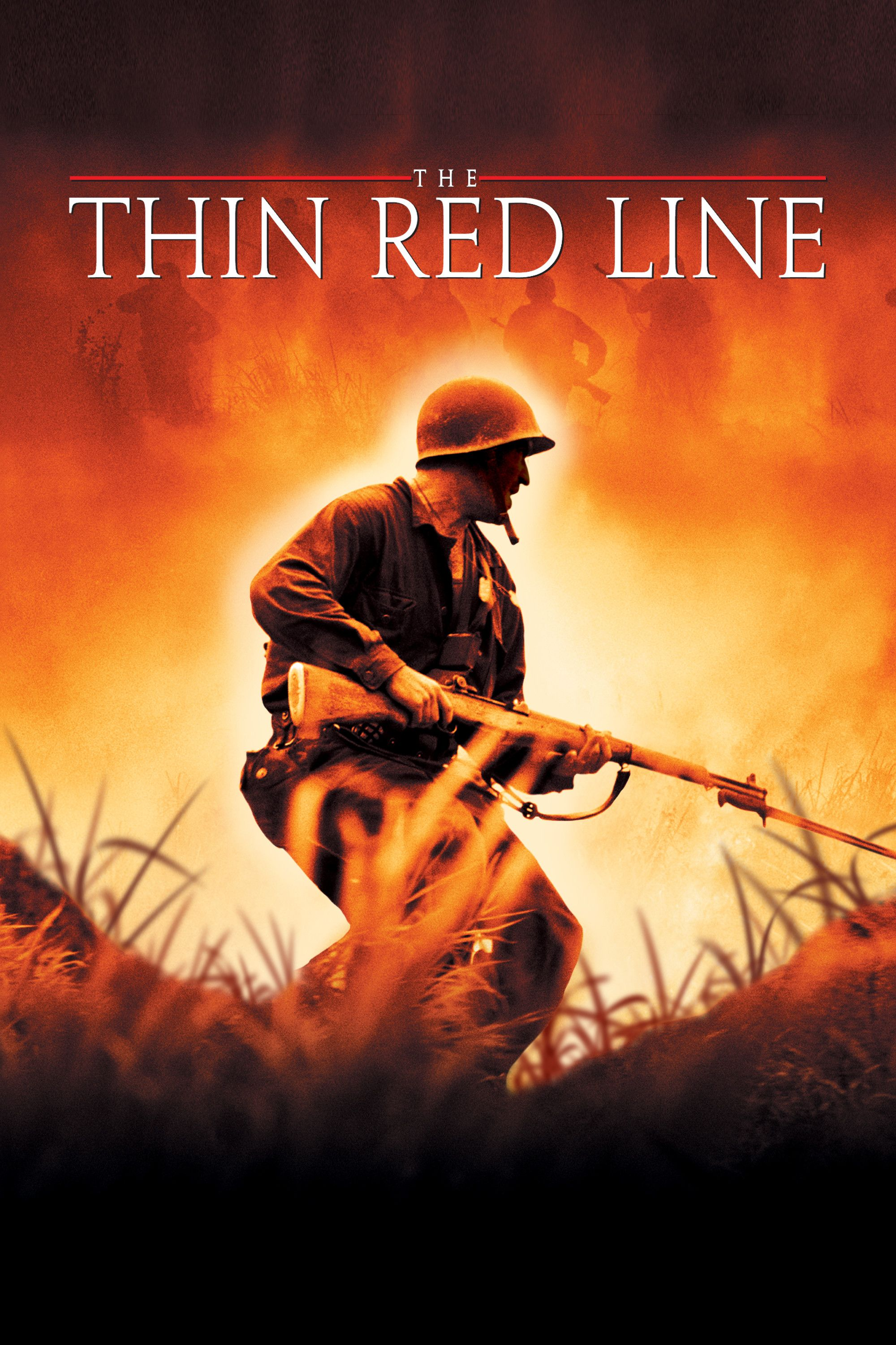 The Thin Red Line Movie Poster Sean Penn Adrien Brody James - Popular movie posters get redesigned with a beautifully minimal twist