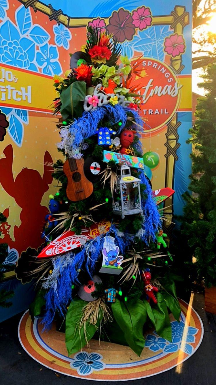 Lilo and Stitch Tree Lilo, stitch, Christmas room