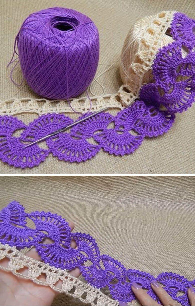 Border lace crochet pattern tutorial crochet pinterest lace border lace crochet pattern tutorial bankloansurffo Gallery