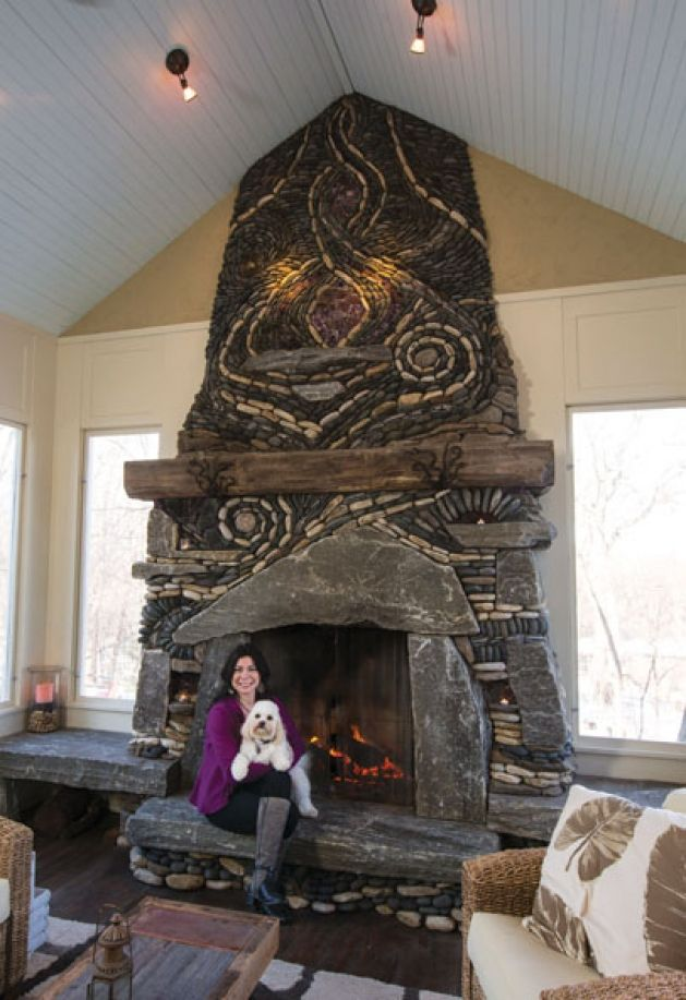 Minnetonka Custom Fireplace Is A Work Of Art Lake Minnetonkamag