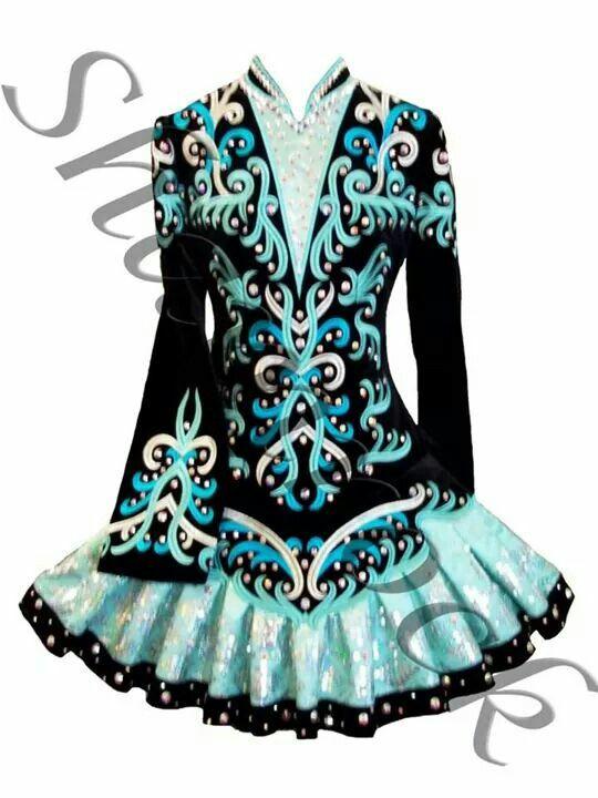 856f0dc4528c4 Shamrock Stitchery Irish Dance Solo Dress Costume - Beautiful ...