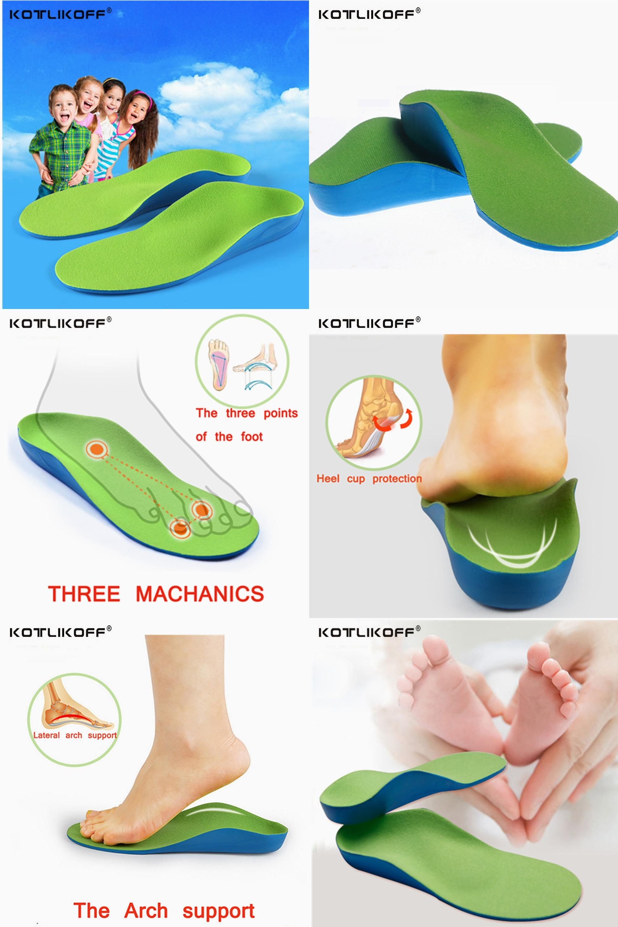 Flat Foot Orthotic Shoes Insoles High Arch Support Breathable Pad Cushion Y