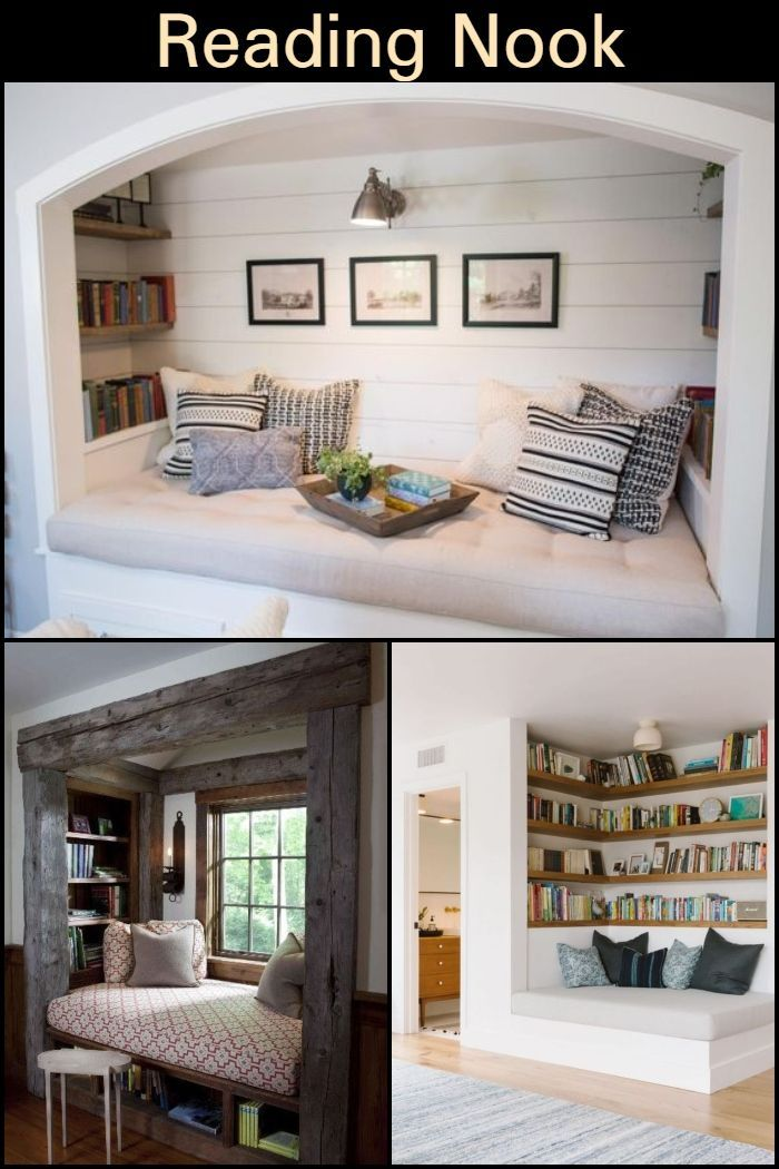 Reading Nooks Reading Nook Home Diy Furniture Redo