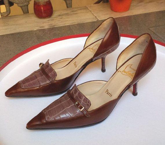 christian louboutin kitten heels sale