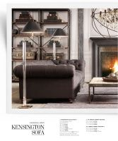 Love charcoal couch... RH