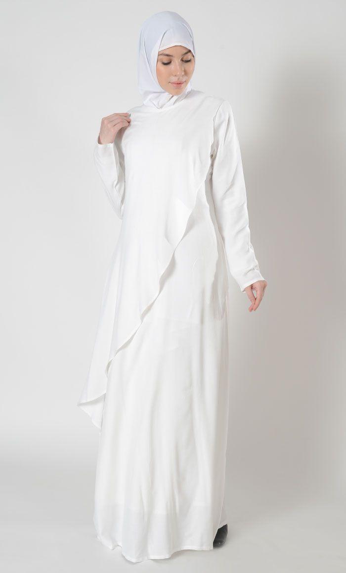 73195706586 Double Layered Hajj Umrah Abaya Dress Double Layered Hajj Umrah ...