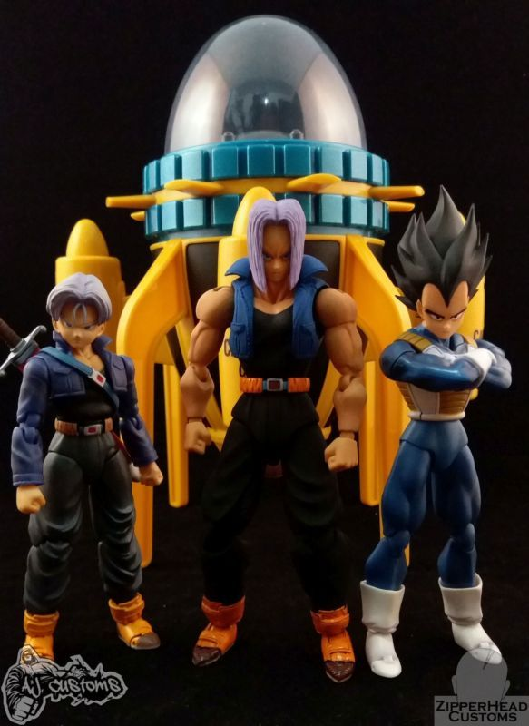 """In STOCK Japan Ver S.H Figuarts Dragonball Super /""""Future Trunks/"""" Action Figure"""