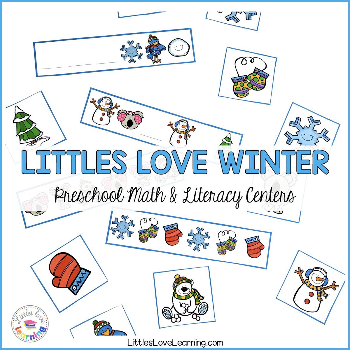 The Best Winter Preschool Activities For Math Amp Literacy