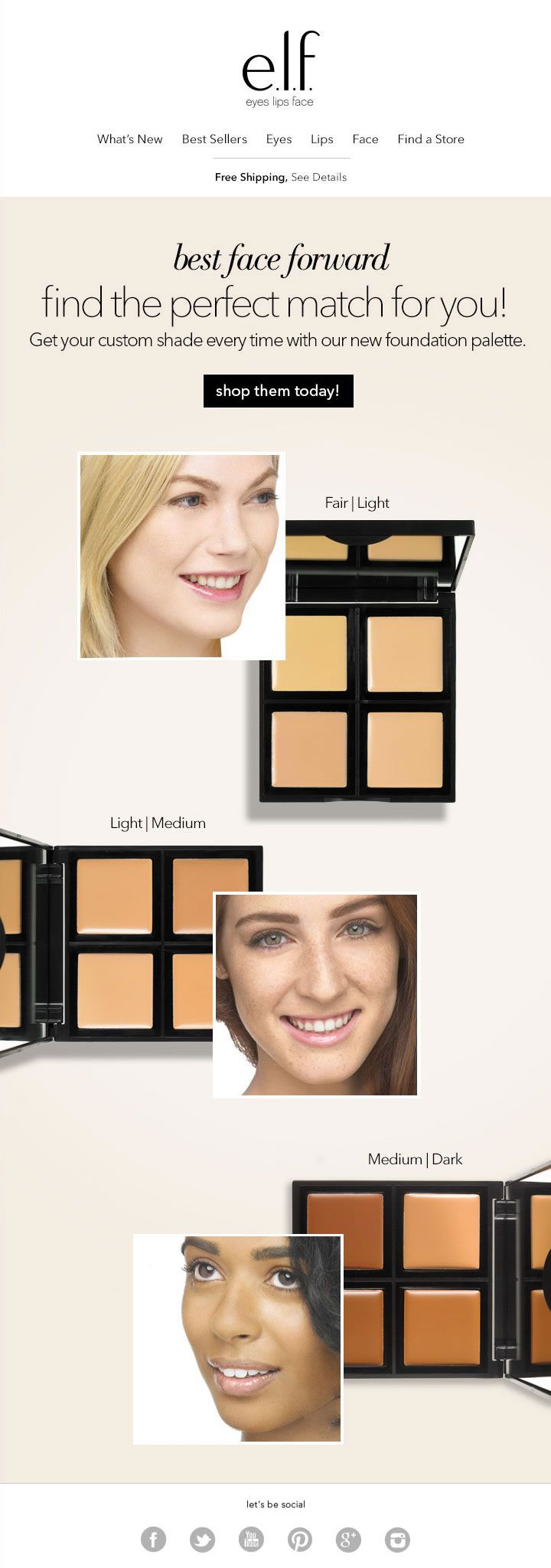 Get your custom shade every time with our NEW foundation
