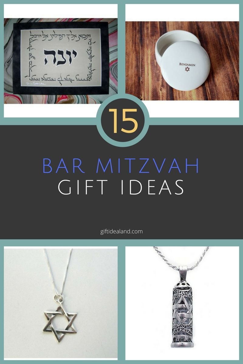 15 great bar mitzvah gift ideas | giftidealand (from the site) | bar