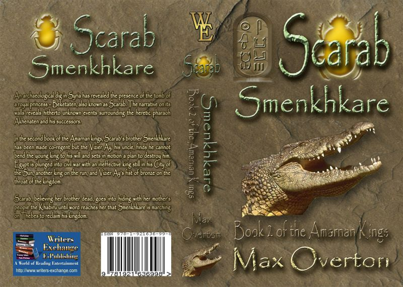 The Amarnan Kings Book 2: Scarab - Smenkhkare by Max Overton (Historical: Egyptian)