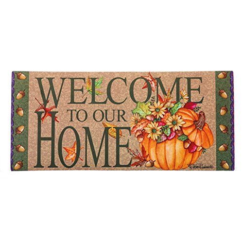 Pumpkin Bucket Sassafras Switch Mat Read More At The Image Link This Amazon Pins Is An Affiliate Link To Ama Door Mat Pumpkin Bucket Evergreen Enterprises