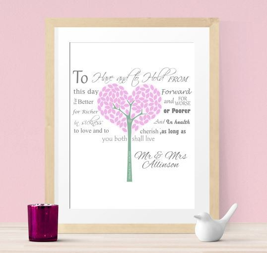 Keepsake Wedding Gifts: Personalized Wedding Gift