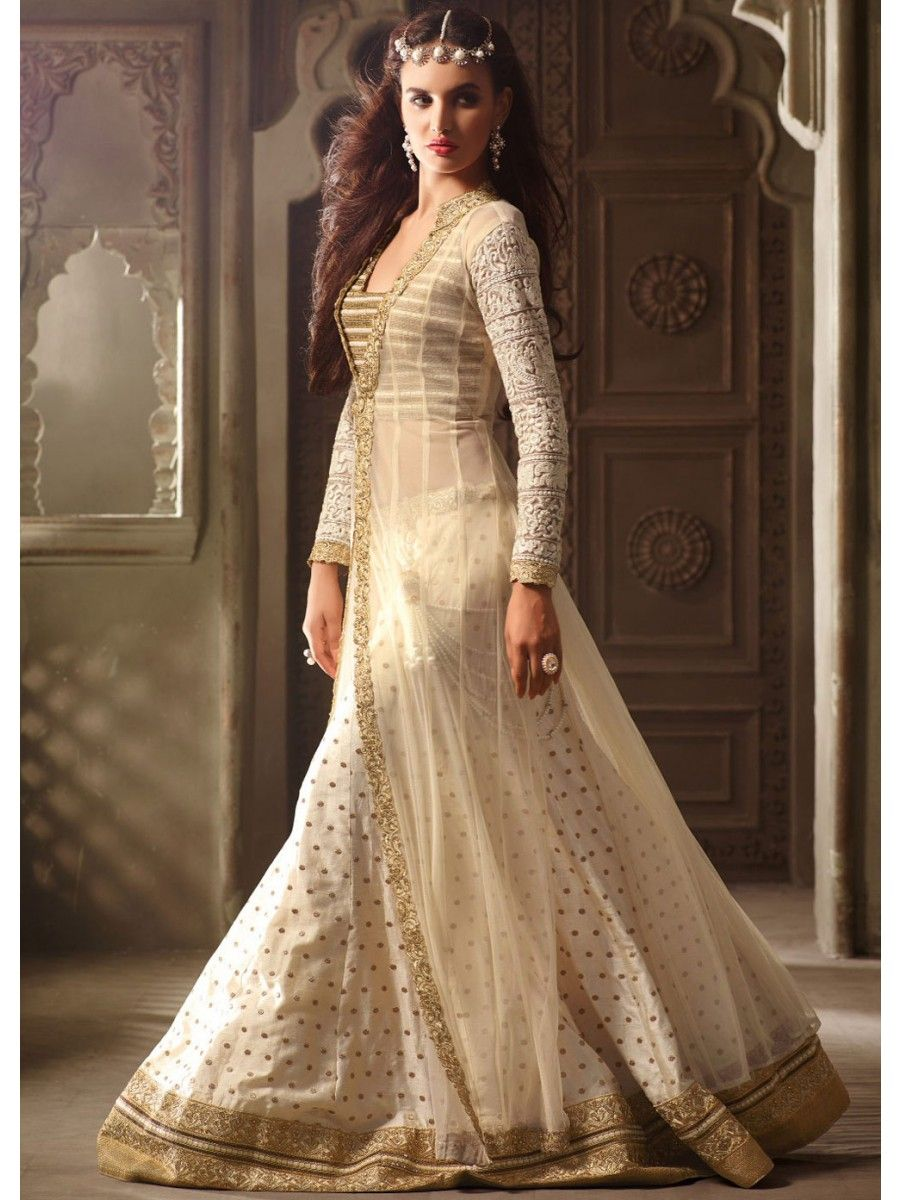 Net and silk partywear lehenga suit adorable looking sexy