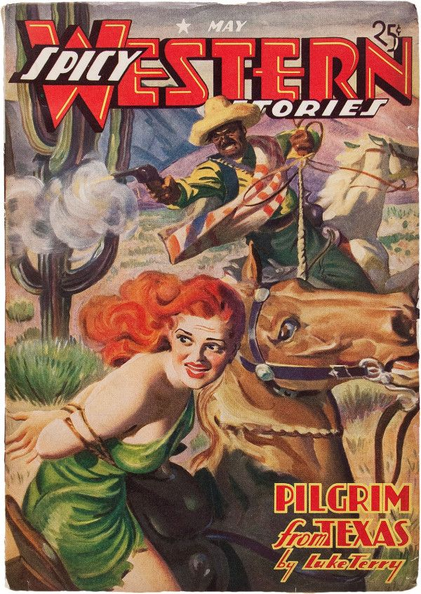 Spicy Western Stories - May 1940