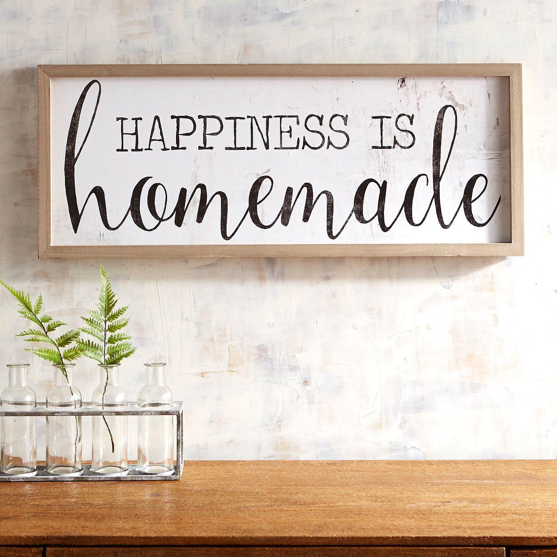 Happiness is homemade wall decor diy wall decor wall
