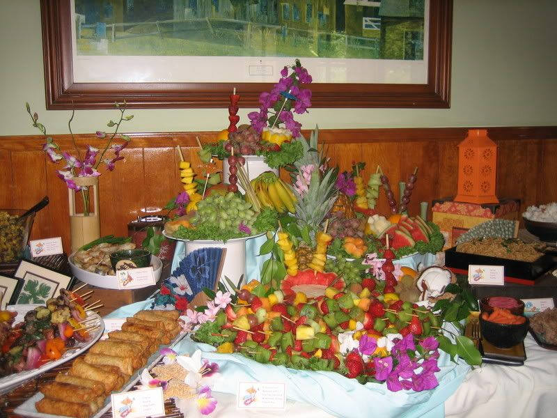 luau buffet | ... the sweets that followed the savory buffet. Be sure to join us again